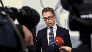 Alexander Stubb den 4 november 2015 i Helsingfors.
