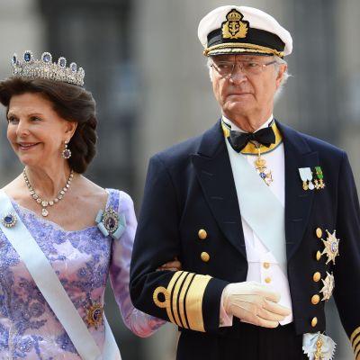 Drottning Silvia och Carl XIV Gustaf.