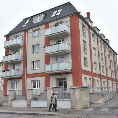 Petra Kvitovás hus i tjeckiska Prostejov där hon blev knivhuggen.
