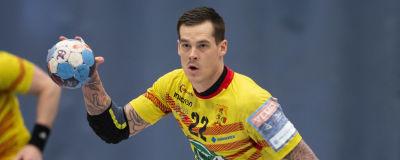 Nico Rönnberg i finalserien mot Dicken.