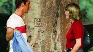 Prins Charles och Camilla Parker Bowles träffas under en polomatch i juli 1975.