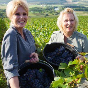 Legendaarisen Todella upeeta -komediasarjan näyttelijäkaksikko Joanna Lumley ja Jennifer Saunders tutustuvat lempijuomansa valmistukseen.