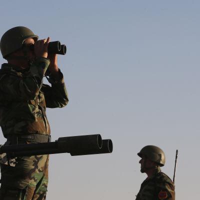 USA genomförde flygräder mot Isis i Irak den 16 september 2014.