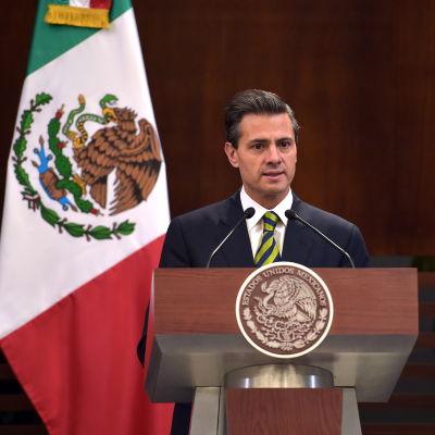 Mexicos president Enrique Peña Nieto.