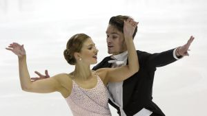 Cecilia Törn och Jussiville Partanen.