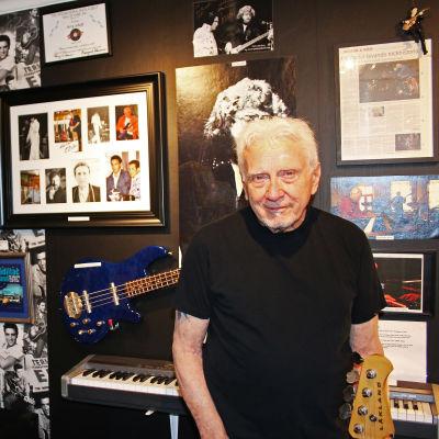 Jerry Scheff som spelade bas med Elvis Presley från 1969