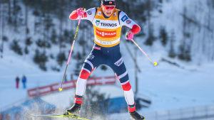 Johannes Hösflot Kläbo i Lahtis 03.03.2018.
