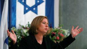Israeliska politikern Tzipi Livni