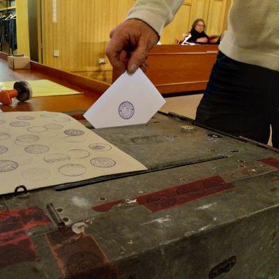 Folkomröstning i Kaskö.