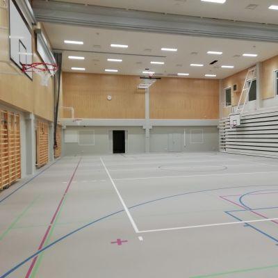 Chydenius skolas gymnastiksal