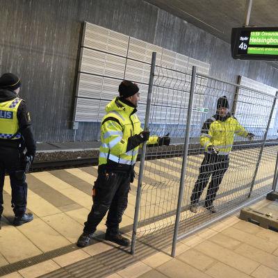 Polis i Malmö 3.1.2016.