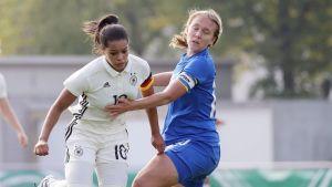 U17-landslaget, flickor.