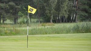 Håll 18 på Virvik golf.