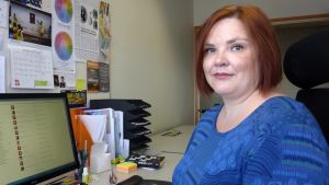 Miina Kajos är projektansvarig på A-klinikstiftelsen