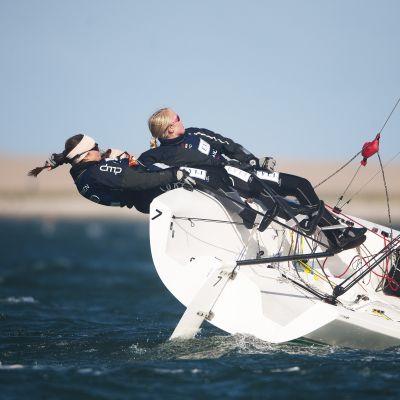 Team Silja Lehtinen jagar VM-guld i Match Race