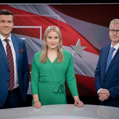 Tommy Fränti, Rosa Kettumäki ja Juha Hietanen