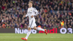 Lucas Silva i Real Madrid -uniform.