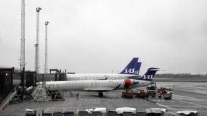 Kastrups flygplats där terminal 2 stängdes av säkerhetsskäl