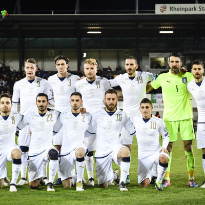 Italiens herrlandslag i fotboll vägrar förlora.