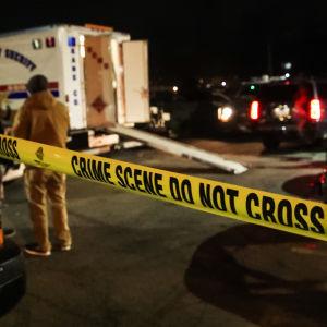 Brottsplats i Illinois efter dödsskjutning
