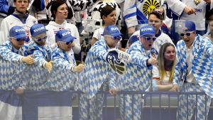 Finska fans, ishockey-VM 2015.