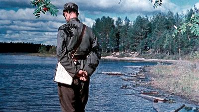 Oopperalaulaja Kim Borg oli sotavalokuvaajana jatkosodassa.