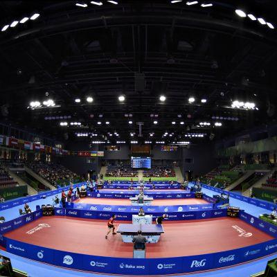 Bordtennis vid OS i Rio de Janeiro.