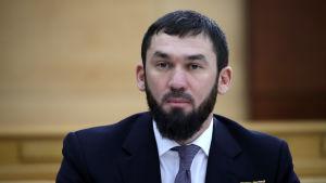 Magomed Daudov, tjetjenska parlamentets talman.