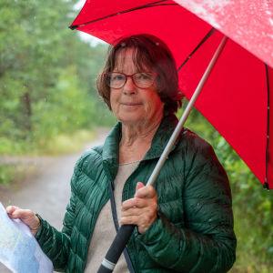 Kopparnäs-entusiasten Lucille Rosenqvist-Aminoff