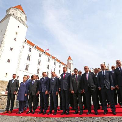 EU-möte i Bratislava 16.9.2016.