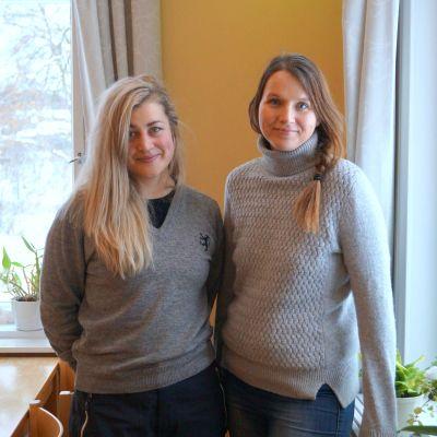 Anna Övergaard och Anna Jungarå.