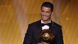 Cristiano Ronaldo, Ballon d'Or-galan 2015