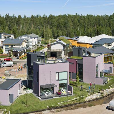 Vantaan asuntomessut järjestettiin viime vuonna Kivistössä.