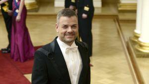 Jari Sillanpää på slottsbalen