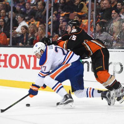 Sami Vatanen och Anaheim Ducks fick Edmonton på fall.