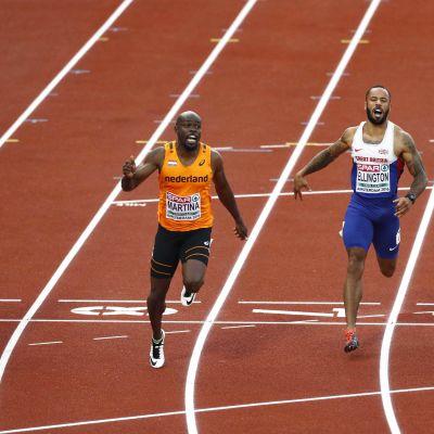 Churandy Martina vinner 100 meter
