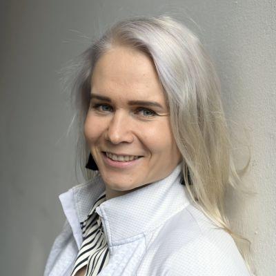 Painuransa lopettanut Petra Olli Helsingissä 6. lokakuuta 2021.