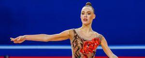 Finlands Rebecca Gergalo i VM-2018 i Sofia.