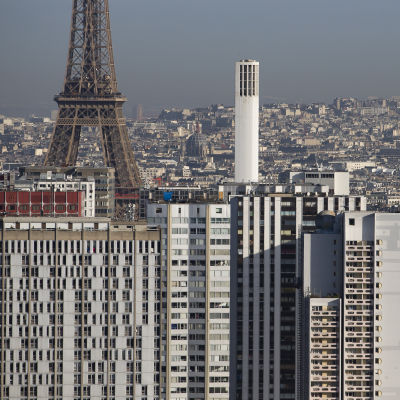 Vy över Paris