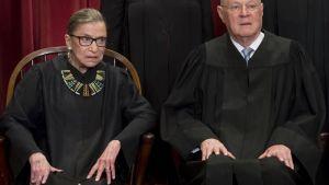 De äldsta domarna i USA:s högsta domstol i porträtt.