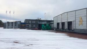 Chipsfabriken i Haraldsby, Saltvik.