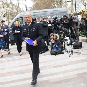 Neil Basu, biträdande polischef på antiterroravdelningen på Metropolitan Police i London, UK.