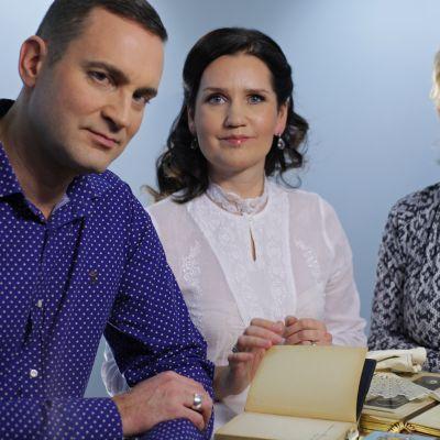 Stefan Brunow, Pia-Maria Lehtola och Katja Weiland-Särmälä