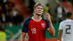 Erling Braut Håland fällde Honduras på egen hand i U20-VM.