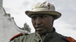 Bosco Ntaganda år 2009 då han tjänstgjorde i den kongolesiska armén.