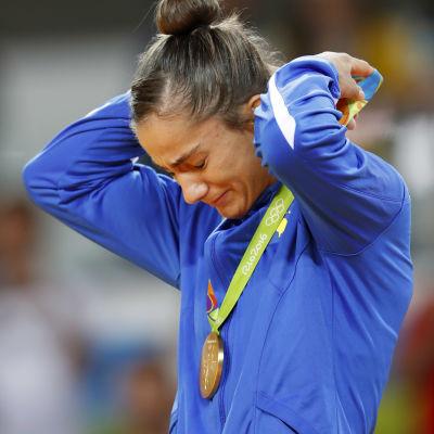 Majlinda Kelmendi vann OS-guld i judo.