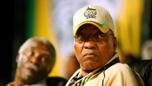 Den sydafrikanska politikern Jacob Zuma