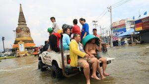 Översvämningar i Thailand