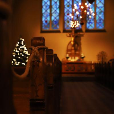 Sisäkuva Kemin kirkosta