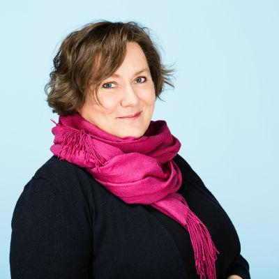 porträtt av Ann-Catrin Rosenberg, projektledare för BUU-klubben